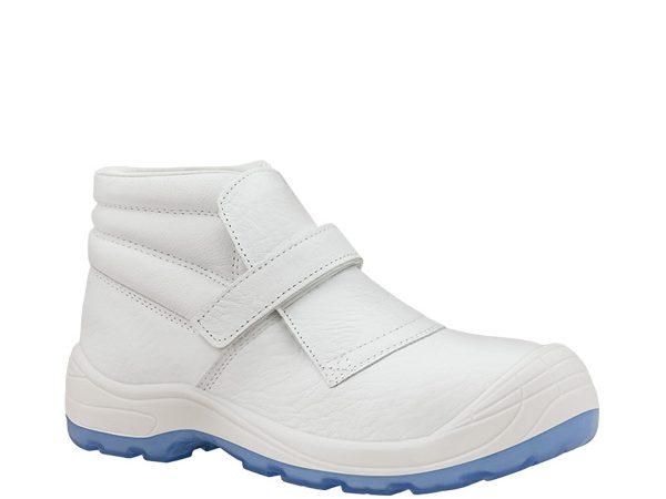 Bota Fragua Velcro Totale Blanca