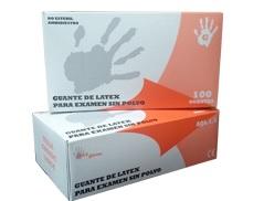 Guante de látex sin polvo Ref. 60011