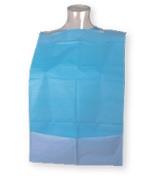 Babero adultos PE + Tissue con receptáculo Ref. 66600