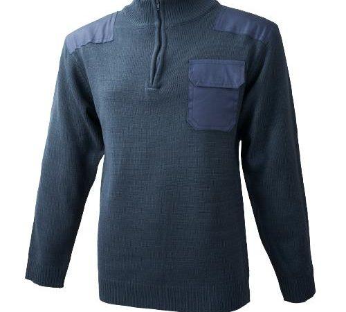 Jersey refuerzos cuello cremallera Ref. 1072