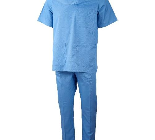 Conjunto pijama con cuello de pico