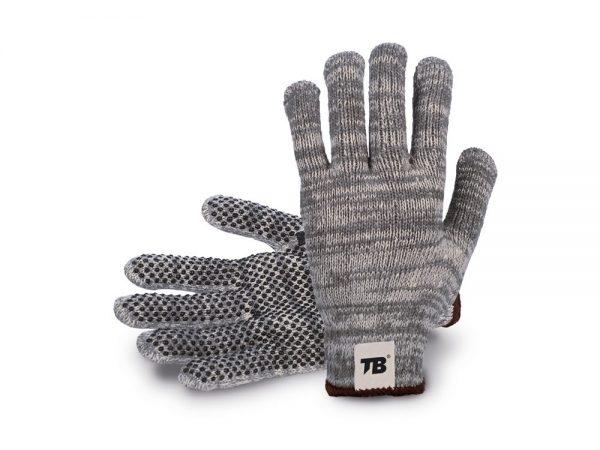 Guante gris s/costuras 212 P