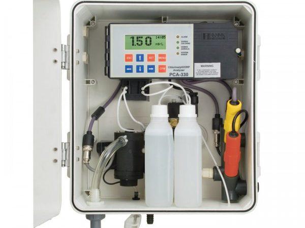 Analizador/Controlador automático Cloro Libre y Total Ref. PCA-310