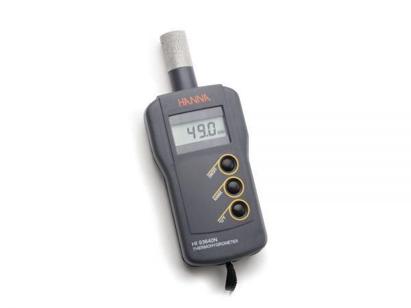 Termohigrómetro compacto con sonda interna Ref. HI93640