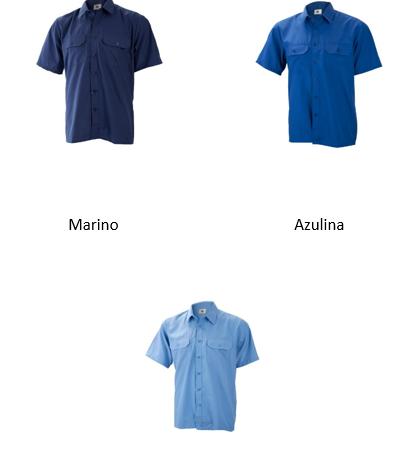 Camisa manga corta 2 bolsillos Ref. 1019