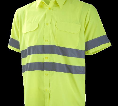 Camisa manga corta 2 bolsillos A.V. Ref. 1048
