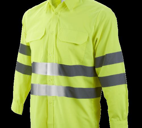 Camisa manga larga 2 bolsillos A.V. Ref. 1049