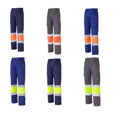 Pantalón multibolsillos combinado algodón A.V. Ref. 1061A