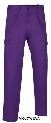 Pantalón CASTER largo multibolsillos c/pinzas