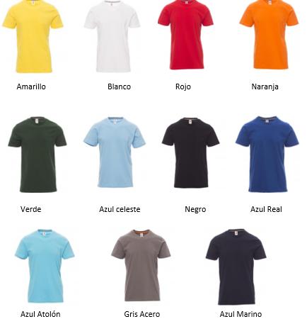 Camiseta de manga corta c/cuello redondo SUNRISE