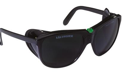 Gafas protectoras. Modelo clásico (grado 5) Ref. EVA317N5
