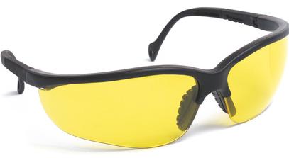 Gafas con lentes amarillas anti vaho. Ref. EVASHARKNJA