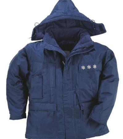 Chaqueta frío extremo de poliéster/algodón LAPONIEII